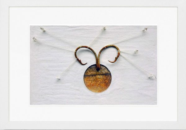 iceland watercolor sand hooks collage