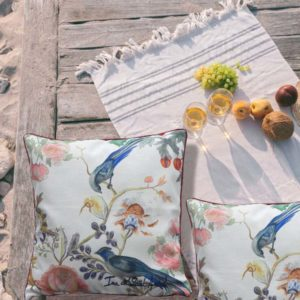 cushion bird ina de saint andeol artist