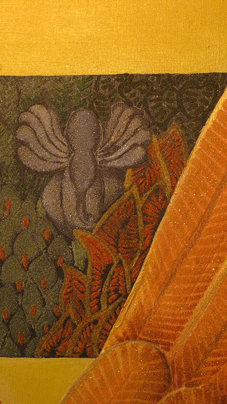 jupiter sand watercolor painting