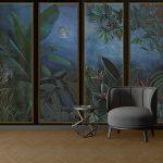 Adhésifs décoration papiers peints jungle